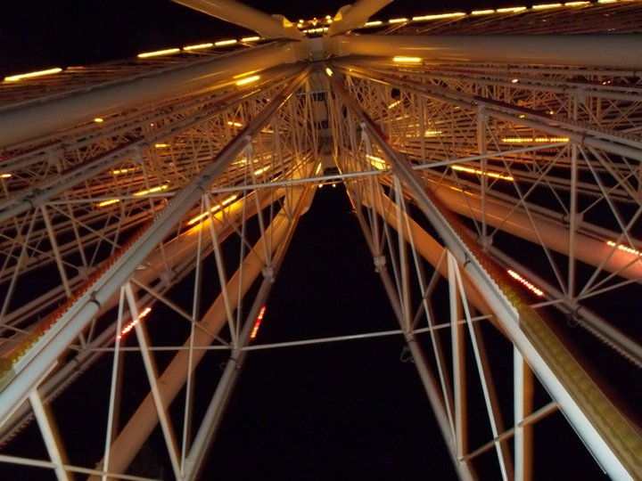 Night Shot, Farris Wheel, Amusement Park, Lagoon, Farmington, Utah