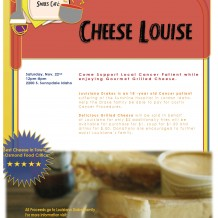 Cheese Louise Event Flyer