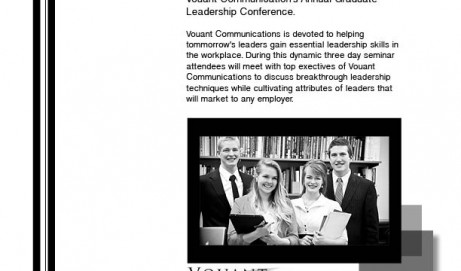 Graduate Leadership Flyer